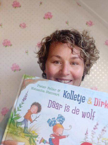 Kolletje en Dirk Daar is de wolf