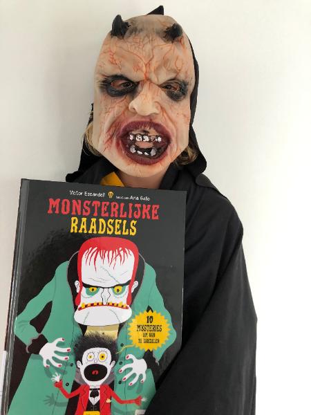 Monsterlijke Raadsels - 10 mysteries om van te griezelen