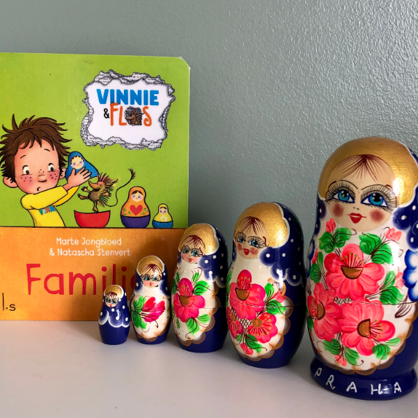 Vinnie en Flos - Familie