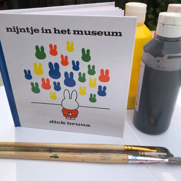 Nijntje in het museum