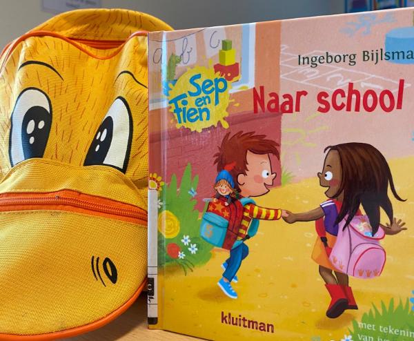 Sep en Fien, naar school