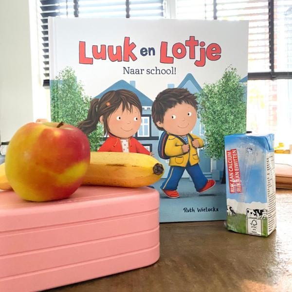 Luuk en Lotje naar school!