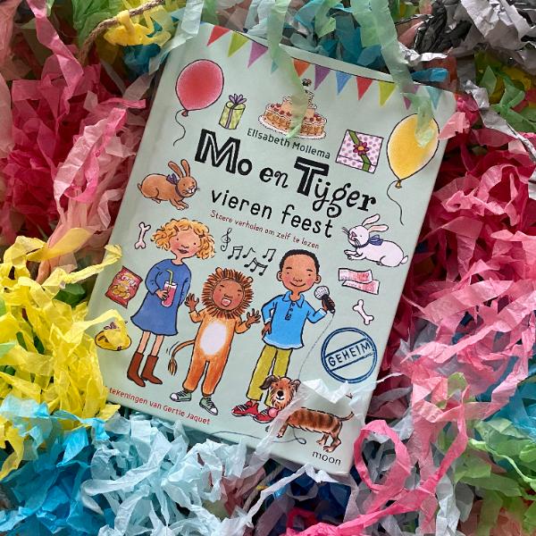 Mo en Tijger vieren feest - stoere verhalen om zelf te lezen