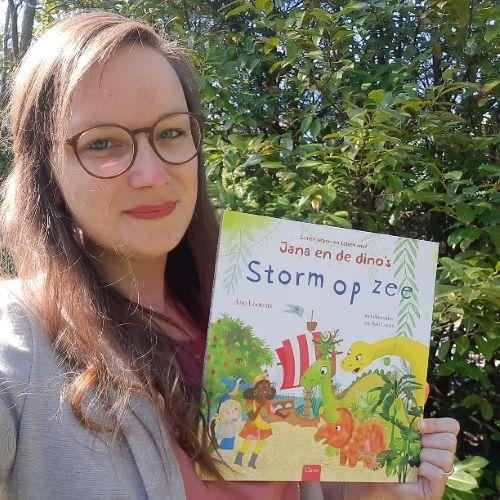 Leer lezen en tellen met Jana en de dinos, storm op zee