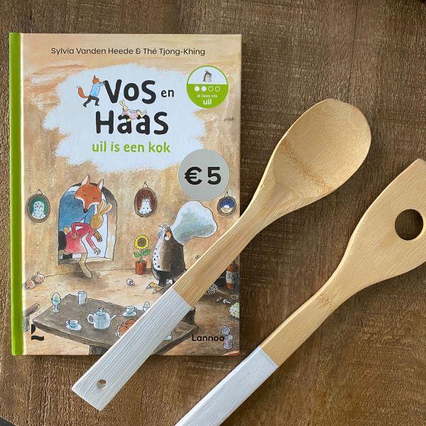Vos en Haas - Uil is een kok